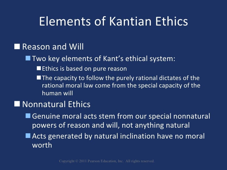 kantian ethics and ethics of care The problem consists of a prima facie conflict between this kantian ideal and the  reality  we will not focus on such clear ethical lapses as doctors or health care.
