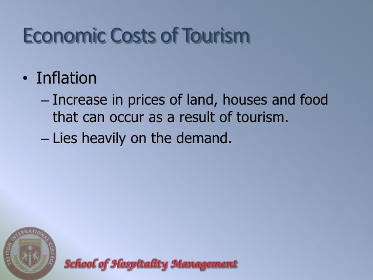 inflation and tourism Rising inflation and falling wage growth add to woes of traditional retailers.