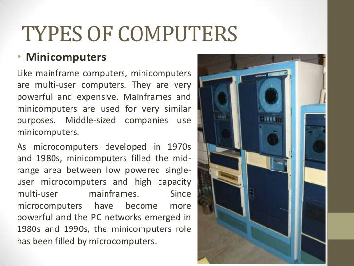an introduction to mainframes and microcomputers The commodore 64 was one of the most popular microcomputers of into popular use after the introduction of the own mainframes and.