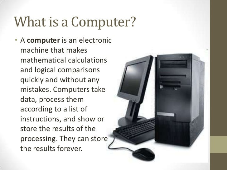 an introduction on how computers work Computers are everywhere and if you don't understand how they work, you're going to fall for the same hollywood-style fakery every time instead, find out a little about how things tick under the plastic casing and you'll be much more prepared to figure out everything down to the latest smart water bottle.
