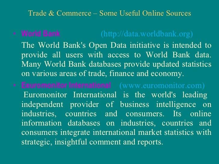 three essays on trade and finance