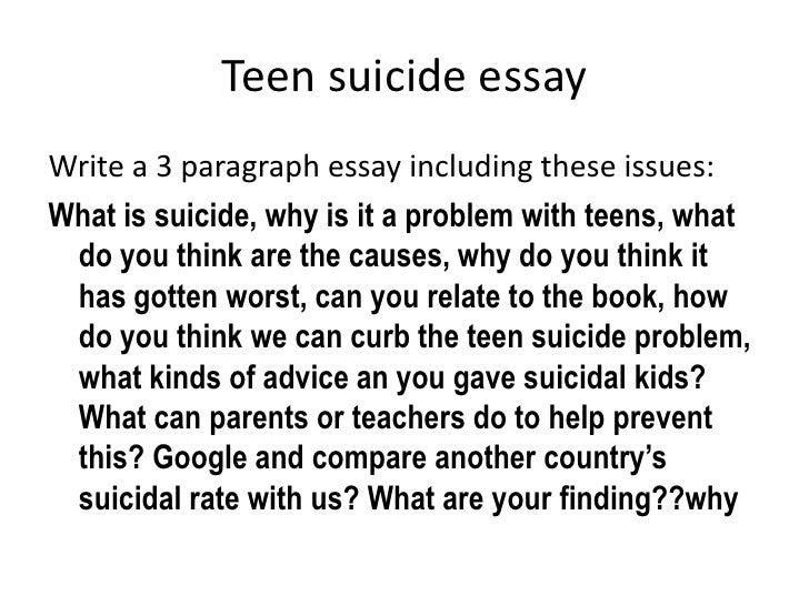 persuasive speech for teen suicide My english persuasive speech assignment my english persuasive speech assignment and normal teenage moodiness suicide teen depression.