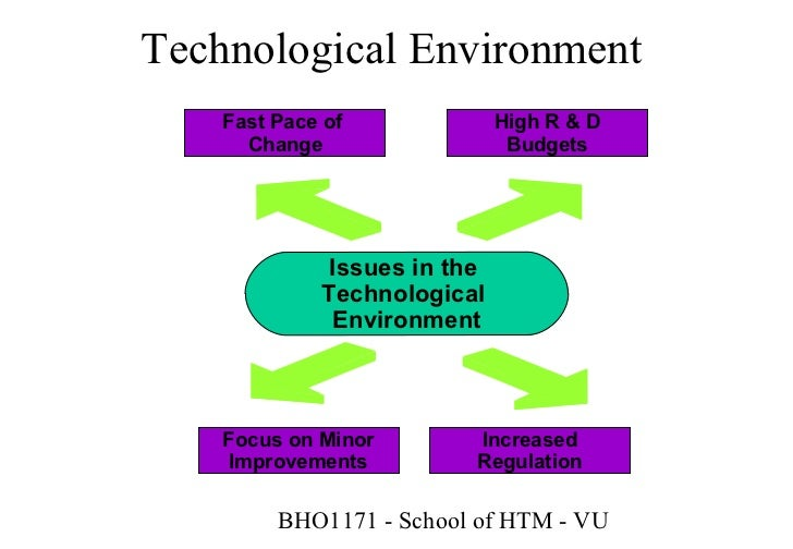 technological environment in marketing (6) technological changes: technology post much challenges to marketers, it  affects the kind of product that you as a marketer can offer, for.