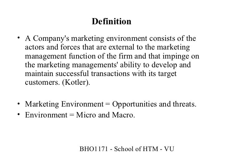 Internal Factors that May Affect the Business Organization