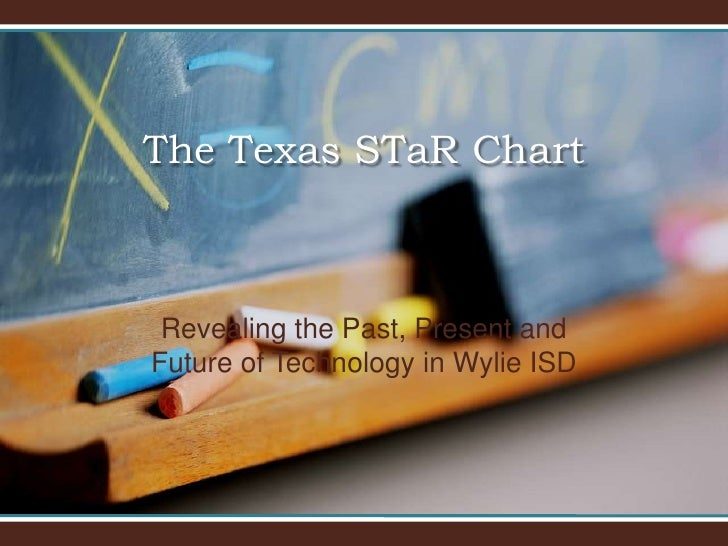 The Texas STaR Chart<br />Revealing the Past, Present and Future of Technology in Wylie ISD<br />