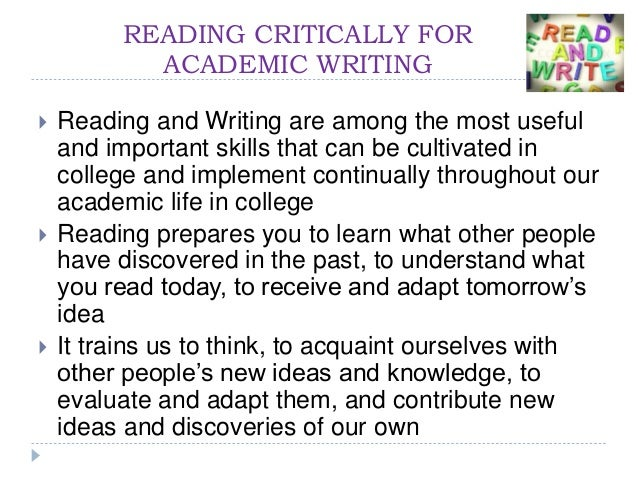 benefits of critical reading