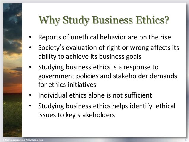 is there ethics in business world Some years ago, sociologist raymond baumhart asked business people, what does ethics mean to you among their replies were the following.