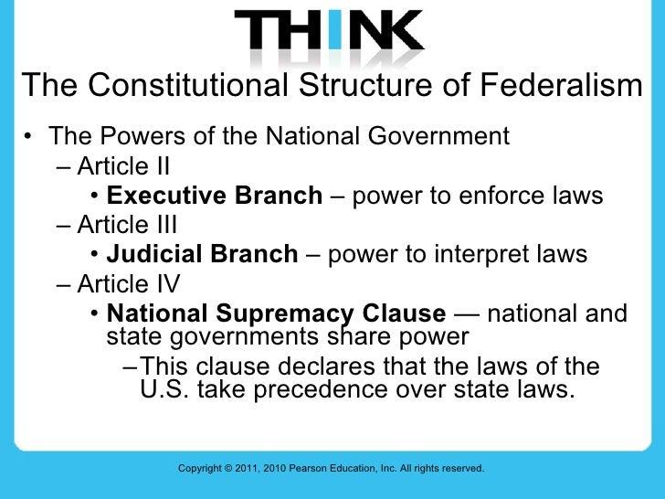 Federalism Slide 3