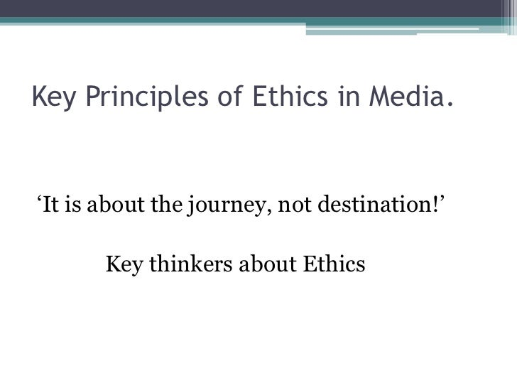an introduction to the analysis of the ethics of the media Essay introductions write an introduction that interests the reader and effectively outlines your arguments every essay or assignment you write must begin with an introduction.