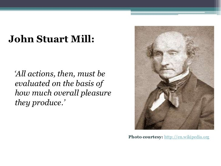 An introduction to the lives of immanuel kant and john stuart mill
