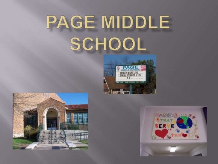 Page Middle School <br />