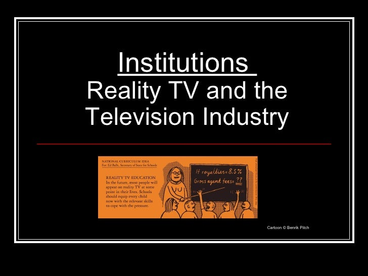 the impact of reality tv essay Results reveal interesting information on the typed of television programmes viewed, the ratings of the most watched reality shows and their impact on society the nationwide criticism that reality shows on tv succeed in hiding the socioeconomic realities in india is not wholly ignored in this study.
