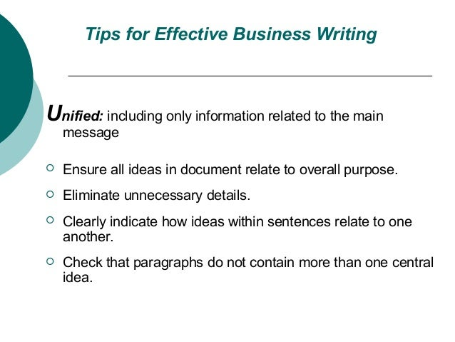 effective business writing tutorials free