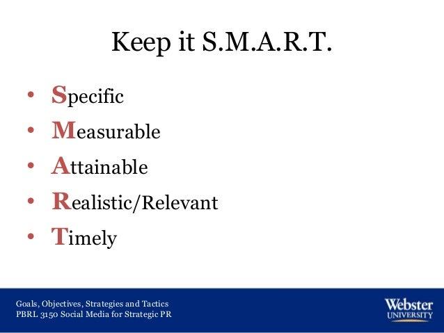 goals  objectives  strategies and tactics