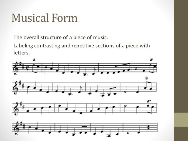 Musical Textures and Forms