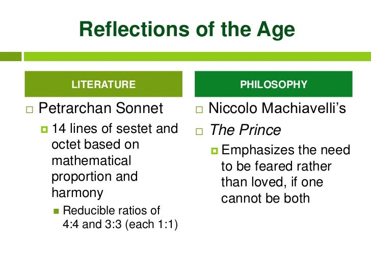 an overview of the focus of niccolo machiavelli an italian prince Lao-tzu appears to focus the majority of his attention  niccolo machiavelli was an italian  in the prince, niccolo machiavelli presents many ideas that may.