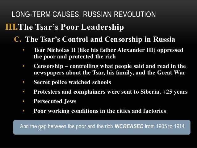 causes and consequences of the 1905 October 1905 revolution and its consequences nicholas tries to compromise 6 august : nicholas issued a manifesto creating state duma consultative elections secret, but not general, equal, or direct allowed to discuss proposals see budgets little real power called for mid-january 1906 first soviets created origin: shidlovsky commission february 1905.