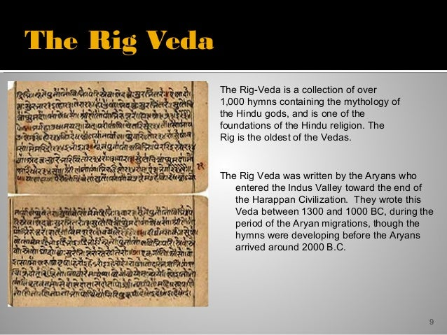 rig veda creation story