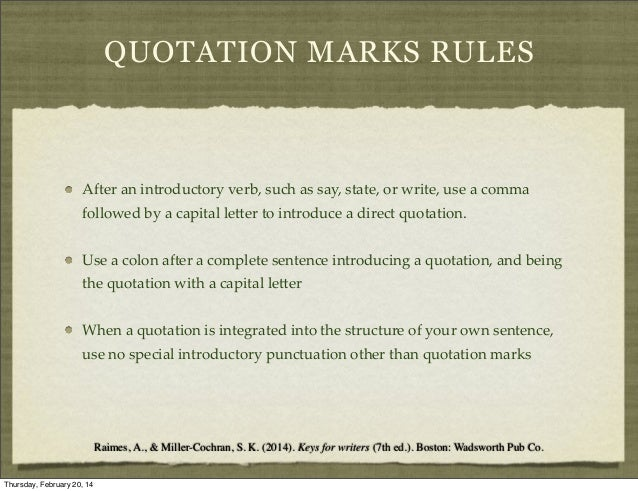 """No Is A Complete Sentence Quote: Week 3 Apostrophe And """""""" Mark"""