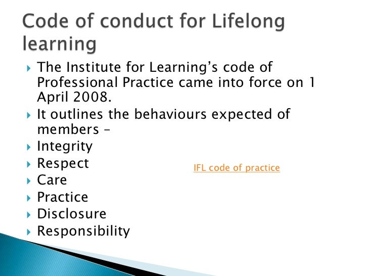 1 3 explain own role and responsibilities in lifelong learning Roles, responsibilities and relationships in lifelong learning  13 explain own role and responsibilities in lifelong learning 14 explain own role and.