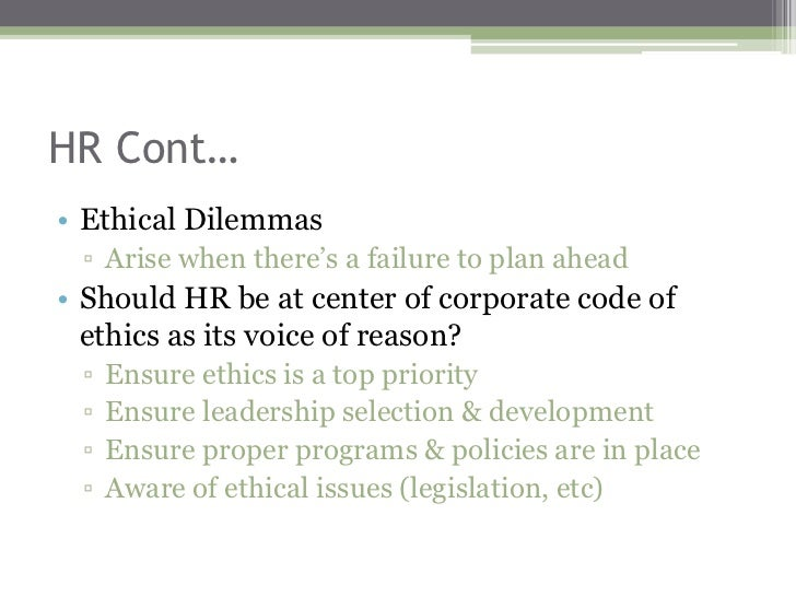 Ethical issues in recruitment and selection
