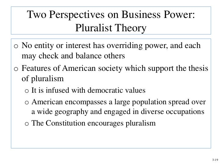 pluralist vs power elite