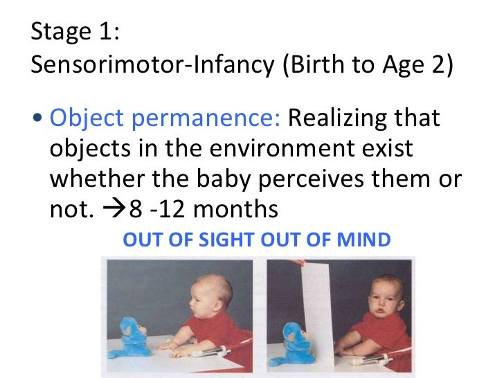 object permanence piaget