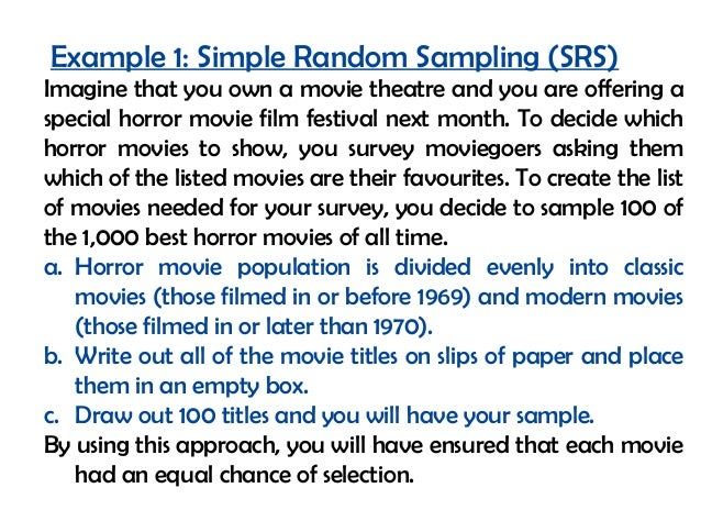 Probability Sampling Techniques