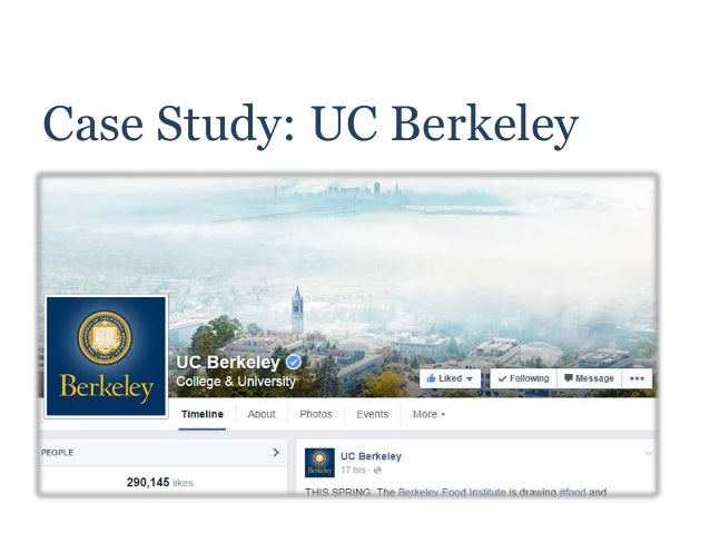 Case Study: UC Berkeley