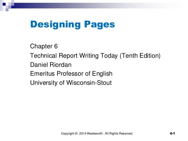 Week 4 - Designing pages