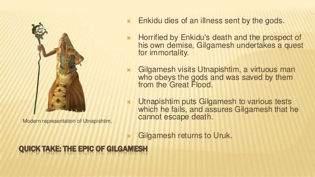 Themes in the Epic of Gilgamesh