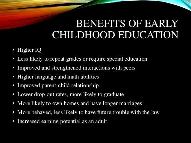 early childhood education 9 essay Question select one research methodology studied in this course (experiment, survey, discourse analysis, case study and action research), and examine its attributes, limitations and appropriateness for research in the early childhood education.