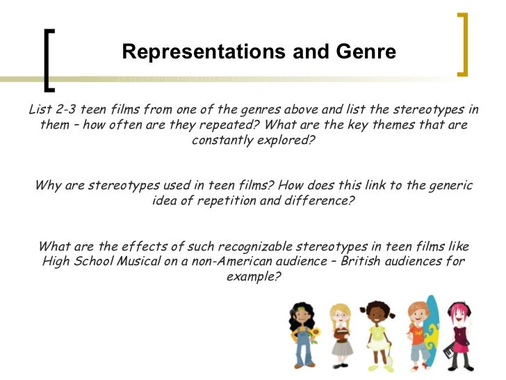 essay stereotypes in media While stereotypes tend to have a grain of truth within them (the french really do hate the english), they tend to overlook the differences between individuals, making.