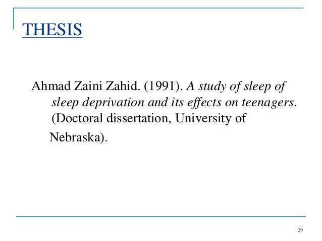 apa dissertation reference citation