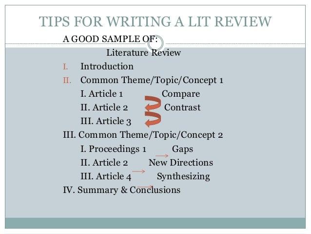 Week4b Pptslides Literature Review