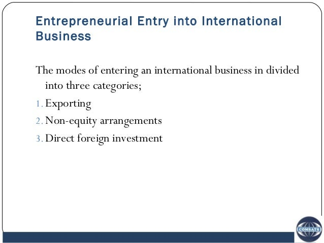 importance of international business