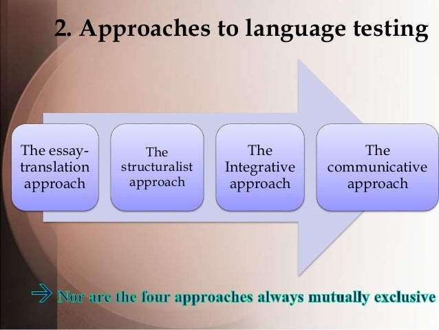 testing methodologies