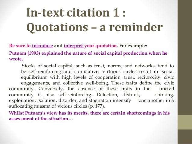 do you indent quotations in an essay