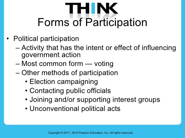 Week 4) political participation