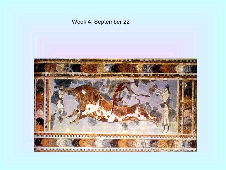 Week 4, September 22