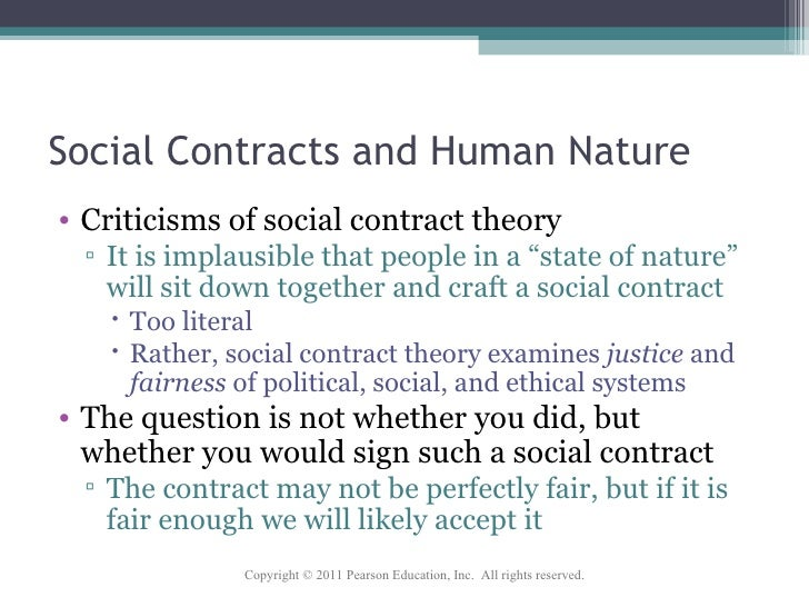 state of nature and social contract John locke and the natural law and natural rights tradition as in hobbes's state of nature in hobbes's state of nature but is the product of a social contract, a contract to which each separate individual must consent.