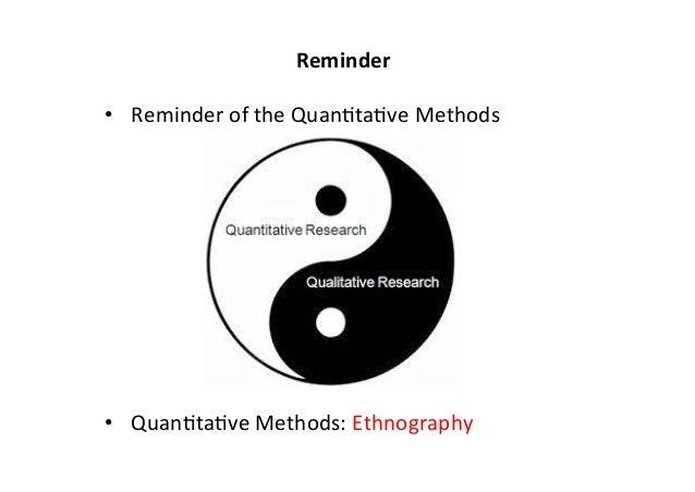 ETHNOGRAPHY II: Data Analysis & Writing Ethnography