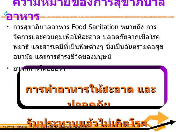 sanitation in food industry pdf