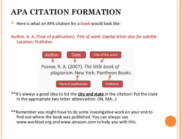 Apa reference for website