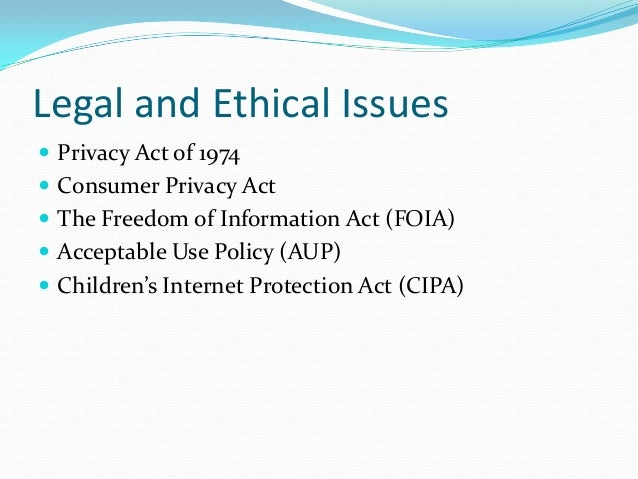 ethics in information technology fair credit act Ethics are moral values and standards that indicate to members of a society how they should act laws are rules and regulations that mandate certain behaviors and punish offenders who violate those  what is the difference between ethics and law a: quick  that are later viewed as harmful, such as tactics employed by the government in nazi germany while not.