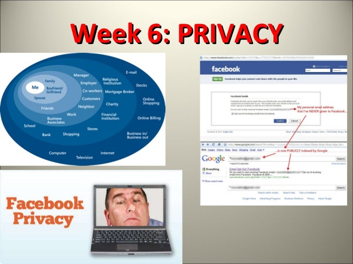 Week 6: PRIVACY