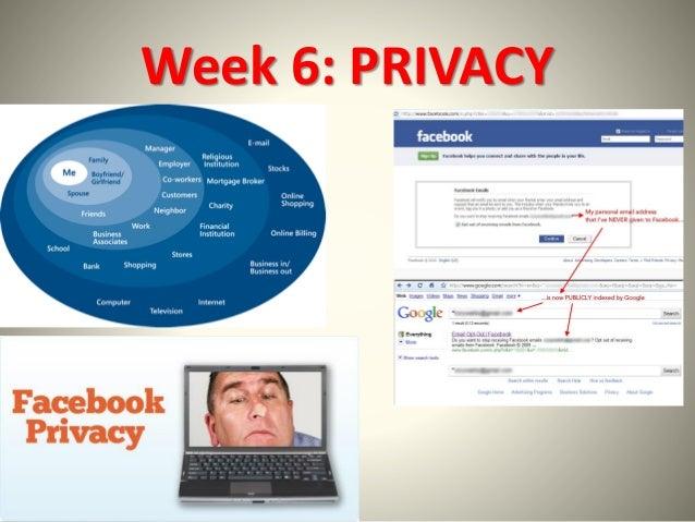 Week 6: PRIVACY