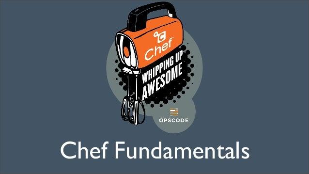 Chef Fundamentals