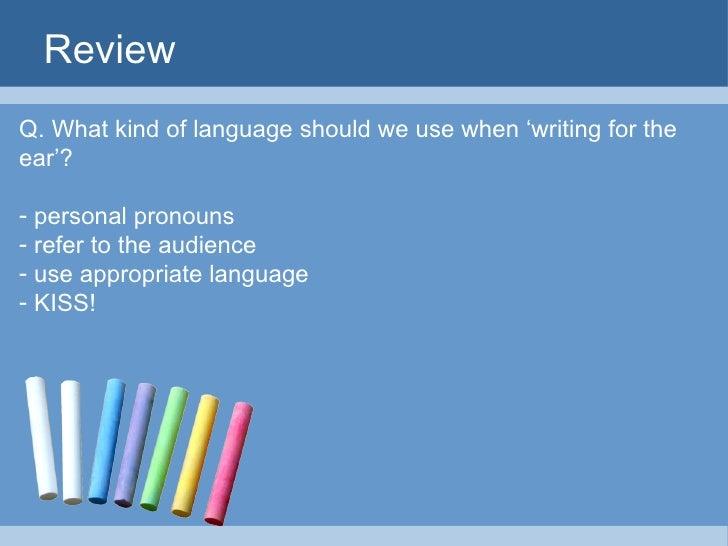Presentation Skills