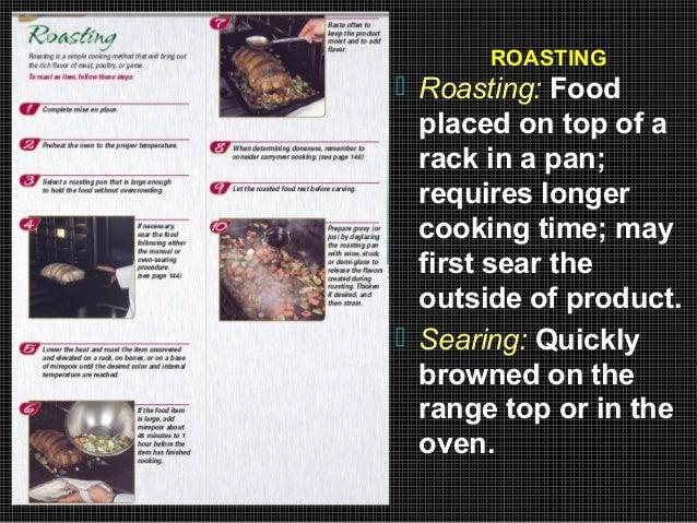 Dry Heat Cooking Method